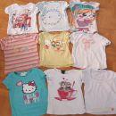 kratke majice za punčke v velikosti 98-104