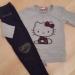 Hello Kitty+pajkice s srčki ...6-7 let