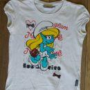 Smrkci kratka majica št. 140; 2 €