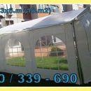IZPOSOJA ŠOTORA VRTNI PAVILJON. 3x6.m (18.m2) V Beli barvi.