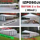 ODDAJA ŠOTORA 5x8.m in 3x6.m, AGREGATA