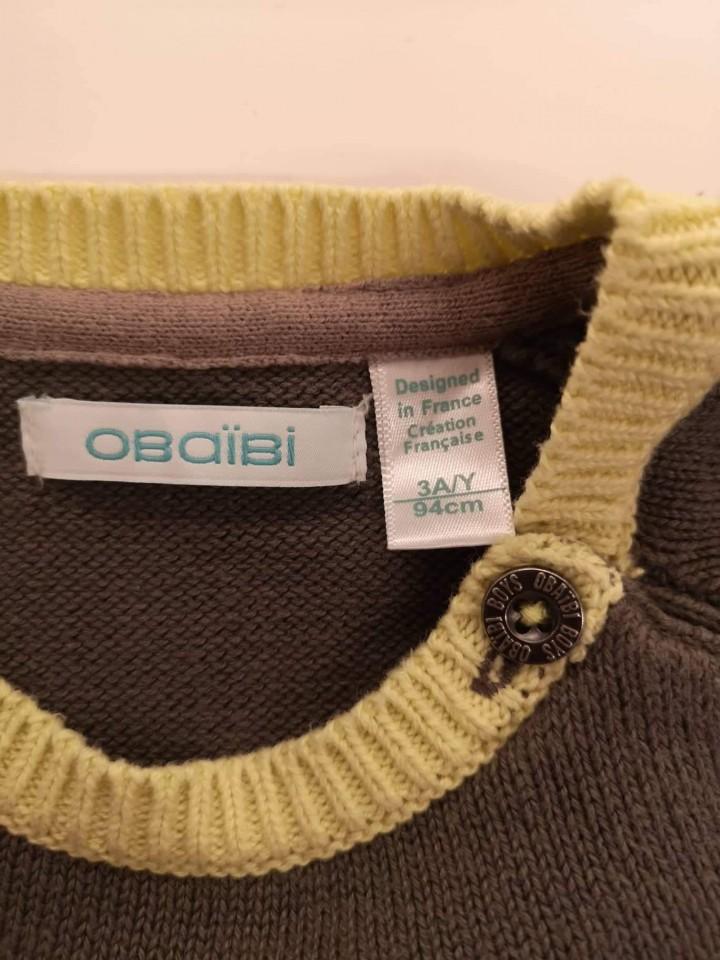 Pulover Obaibi 3 leta 94cm - foto povečava