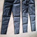 Legginse. Imitacija usnjenih hlač