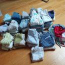 oblačila za novorojenčka-fantka