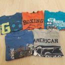 Fantovske majice, velikost 2-3
