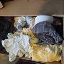 Oblačila ki niso poslikana, nekaj lepo ohranjenih, kakšen kos več nošen ali z madežem
