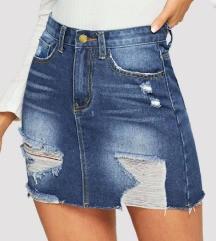 Novo jeans krilo - foto