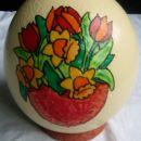Nojevo jajce,podstavek iz DAS mase.