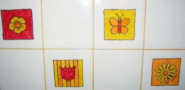 Ploščice v kuhinji 1.del
