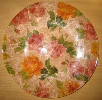 Vrtnice,spodaj rižev papir