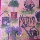 Obešalnik za vrtnarje (za darilo,na kljukice bom dala rokavice,semena...)