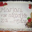 Torta za eno veliko punco :-)