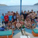 Ekipa z jadranja s katamaranom po Whitsundays Islands(East Coast)
