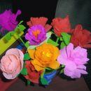 Svoje vrtnice smo postavile na ogled še za zadnji foto utrinek.  Voila! La vie en rose