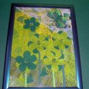 cvetoči travnik (kolaž)