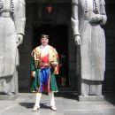Slovenski  Črnogorc v Negoševem  mavzoleju na  Lovćenu