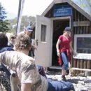 Na skloništu je bila i ekipa Zadrana