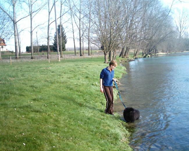 uživam v vodi :)