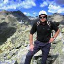 na vrhu gore Hochkedl 2558 m(jeklenice, klini...)  2.9.2006