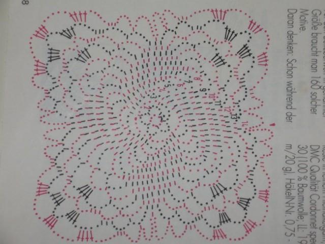 Narediš poljubno število kvadratkov in jih povežeš v pritče, zavese, prevleko za povšterče