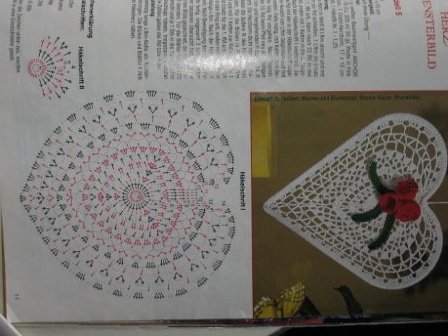 Kvačkanje - vzorčki - foto