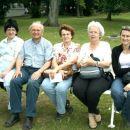 Iz leve proti desni: Nives, France, Boža, Ana in Sabina.