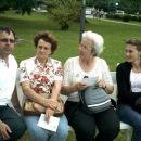 Iz leve proti desni: Jože, Boža, Ana in Sabina.