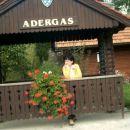 Adergas se imenuje kraj Velesovo, ker so živele nune iz Nemčije in Avstrije v tem samostan