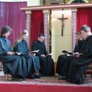 Frančišek v kapeli pri molitvi... (Mb-Magdalena 22.10.)