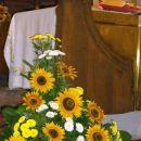 aranžma pred oltarjem 12.8.2007
