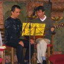 Damjan in Viktor sta v duetu prepevala 12.8.2007