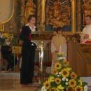 Rahela je pozdravila novomašnika 12.8.2007