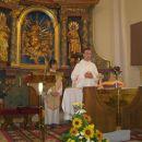 Ponovitev nove maše p. Peter Rožič pri Sv. Magdaleni 12.8.2007