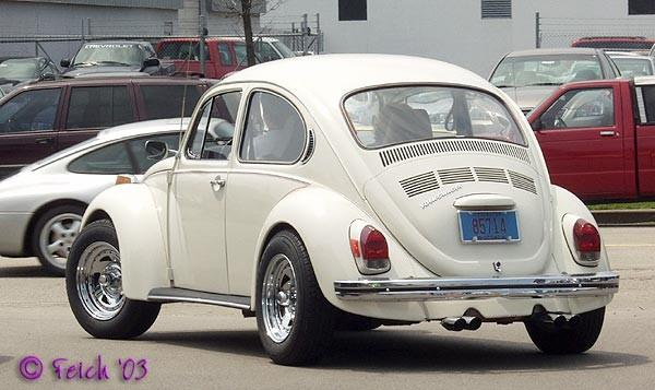 VW hrošč - foto povečava