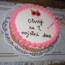 Jogurtova torta z jagodami (avtorica: Irena)