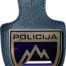 Značka Slovenija (Uniformirana policija) - Slovenia Bagde (Uniformed police)