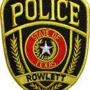 Našitek ZDA (Rowlett) - USA Patch (Rowlett)