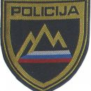 Našitek Slovenija (Uniformirana policija) - Slovenia Patch (Uniformed Police)