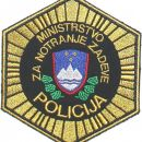 Našitek Slovenija (Ministrstvo za notranje zadeve) - Slovenia Patch (Ministry of the Inter