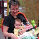 Eolina  s svojo Mašo