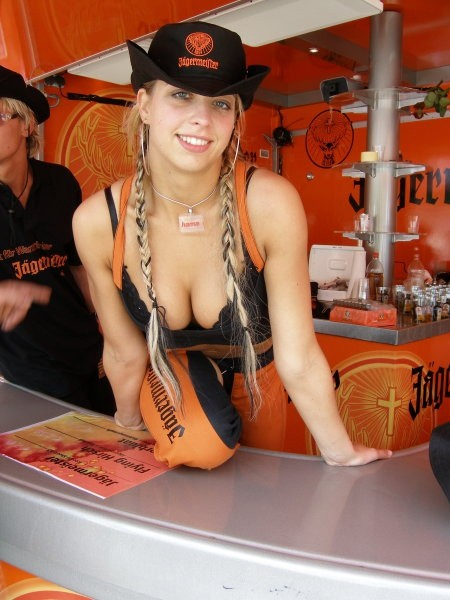 Jagermeister girls