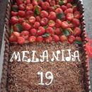 čokoladno-sadna torta