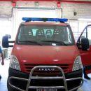 13.6.2007 Gornja Radgona, Mettis - dostava opreme; na kabini vozila je že nameščena svetlo