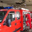 31.7.2007 Gornja Radgona, Mettis; povezavanje črpalke, hidromotojev, posode z vodo...