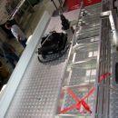 31.7.2007 Gornja Radgona, Mettis; pogled na streho vozila: desno zaboj za orodje, lestev,