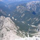 Dolina Mrzle vode z vrha Divje koze