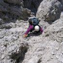 Plezanje na Trbiško Krniško špico