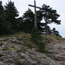 Križ na vrhu Türkensturz, 610m