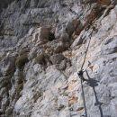 Pot od Planike proti Triglavski škrbini