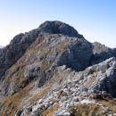 Do vrha Velikega Špičja je še nekaj hoje po grebenu